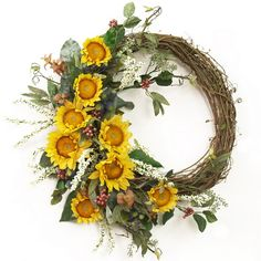 Splendid Fall Wreaths and Door Decoration Ideas And Inspiration