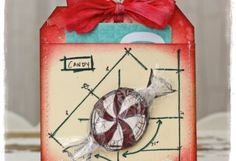tammytutterow | Peppermint Gift Card Holder