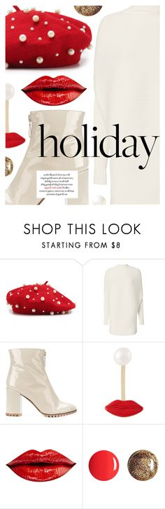 """Cozy Weather"" by cultofsharon ❤ liked on Polyvore featuring Designers Remix, L'Autre Chose, Delfina Delettrez, JustFab and Banana Republic"