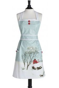 Christmas Apron! The movie White Christmas just came to my mind.