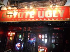 Coyote Ugly, 153 First Avenue at 9th Street, NYC