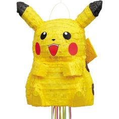 Celebrate with the Pikachu Pull Pinata for your Pokemon party. Find amazing selections & prices on all birthday decorations & supplies at Birthday in a Box. Pikachu Pinata, Legos, Pokemon Party Supplies, Pokemon Super, 6th Birthday Parties, Birthday Ideas, 10th Birthday, Birthday Fun, Thomas Birthday