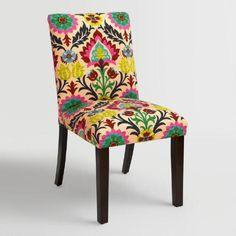 One of my favorite discoveries at WorldMarket.com: Desert Santa Maria Kerri Upholstered Dining Chair