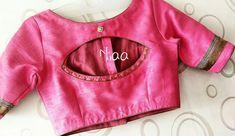 Rashikaprajapat@gmail.com Saree Jacket Designs, Blouse Designs High Neck, Simple Blouse Designs, Blouse Designs Silk, Stylish Blouse Design, Designer Blouse Patterns, Kurta Designs, Blouse Designs Catalogue, Chennai