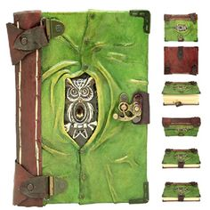 Leather Journals, Diaries & Book of Shadows