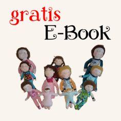 Waldorfpuppen gratis E-Book: rote Bäckchen Mario, Books, Fictional Characters, Google, Baby, Baby Dolls, Handmade Dolls, Sewing Patterns, Tutorials