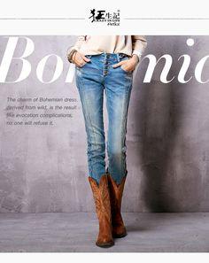 Artka женские новинка весна винтаж all матч удобные джинсы приталенного кроя с полной длиной джеггинсы женские брюки карандаш KN15161Cкупить в магазине ArtkaнаAliExpress