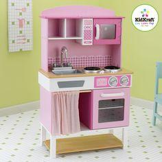 cuisine en bois : grand modèle klein - magasin de jouets pour