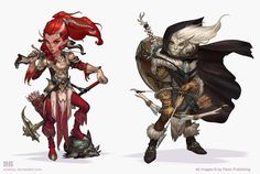 Pathfinder Paladins 2 by *Scebiqu on deviantART