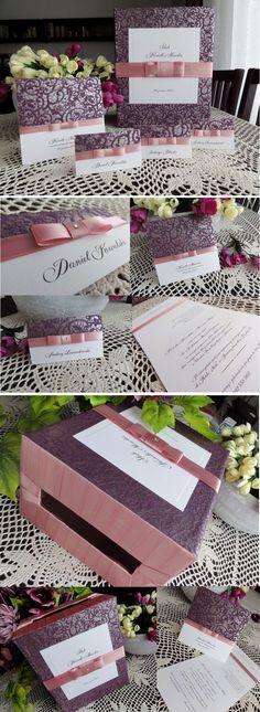 fioletowe dodatki ślubne :) Do zamówienia na: www.na2pietrze.pl