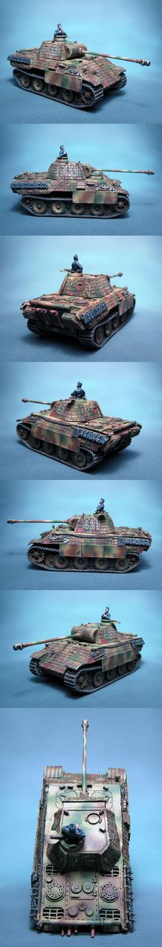 PzKpfw V Ausf A Panther Scale: 1/56(28mm) Manufacturer: Warlord Games UK Game: BOLT ACTION Painted by: OMP(Olsianon Miniatures Painting)