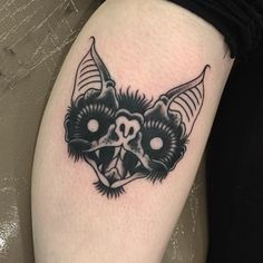 traditional bat tattoo - Google Search More