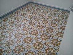 Sorzano vinyl floor tiles. Customer Photo
