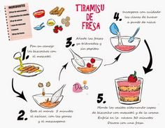DIBU-RECETA: Tiramisú de fresa, más fácil imposible