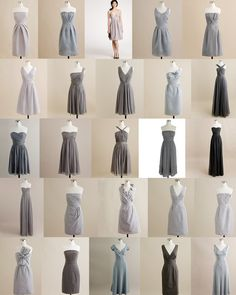 J Crew Entire Grey Bridesmaid Party Dress Page Love The Idea