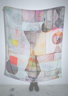 Scarf Lightbox Print