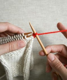 Knitting--Tutorials on Pinterest Knitting, Knitting Tutorials and How To Knit