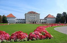 Nymphenburg Palace - Munich, Germany; construction began on the center of the palace in 1664, and wings were added to each side later