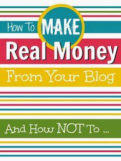 Mums make lists ...: Make Money Blogging