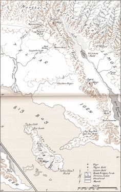 Central plains of the northern continent | Atlas of Pern.