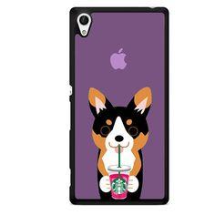 I Love Starbucks Purple Cat TATUM-5485 Sony Phonecase Cover For Xperia Z1, Xperia Z2, Xperia Z3, Xperia Z4, Xperia Z5