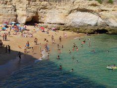 Playa do Carvalho.