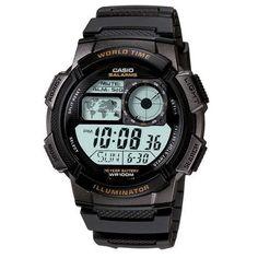 Extra Relógio Masculino Digital Casio AE1000W-1AVDF - Preto ==> R$ 95