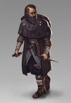ArtStation - Character design : Bandit, Jorge Henriquez