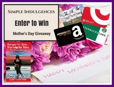 Simple Indulgences Giveaway for Mom and a thought-provoking post:  Why Moms Shouldn't Eat Burnt Toast & A Giveaway!