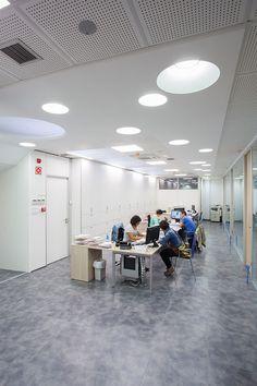 Proyecto de iluminación #LED oficinas del Gabinete Laguntza en #Zarautz.