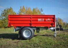 Traktorové návěsy BIG 2