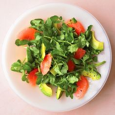 This deceptively simple and well-balanced salad combines a variety of flavors and textures -- tart, creamy, peppery -- and comes together in a snap.