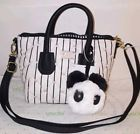 ✰¤ nwt Luv #Betsey Dome satchel black /white #quilt Crossbody pink hearts h... Hurry http://j.mp/2w8j6vR