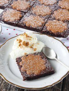 Klicka här för att komma till receptet! Lättgjort recept med steg-för-stegbilder som visar hur man gör. Healthy Recepies, Mud Cake, Fika, Something Sweet, Cakes And More, All Things Christmas, Brownies, Food To Make, Finger Foods