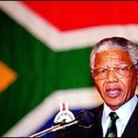 Nelson Mandela becomes South Africa's first black president after more than three centuries of white rule. First Black President, Black Presidents, Nelson Mandela, Beautiful People, Spirituality, In This Moment, History, Xhosa, Image
