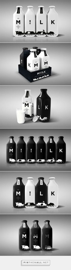 The Best Packaging | M!!!LK – молоко от USSO Design (Концепт) - created via http://pinthemall.net