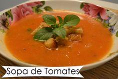 Receita de sopa de tomate