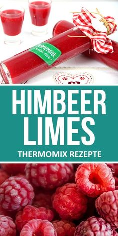Himbeer Limes im Thermomix selber machen. This fruity raspberry limes is popular a Appetizers For Kids, Desserts For A Crowd, Summer Desserts, Dessert Recipes, Vegetarian Kids, Vegetarian Recipes Easy, Summer Grilling Recipes, Summer Recipes, Easy Kid Friendly Dinners
