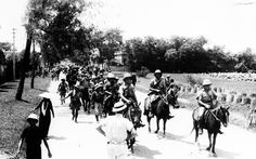French colonial forces move out of Haiphong, in the Tonkin region of French Indochina, on September 26, 1940, as Japanese occupational troops take over the port and city under the terms of the Franco-Japanese agreement, where Vichy France granted military access to Japanese forces.