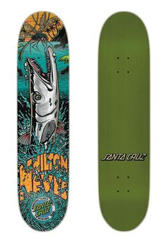 Santa Cruz Skateboards 'Gone Fishin'' Deck Series
