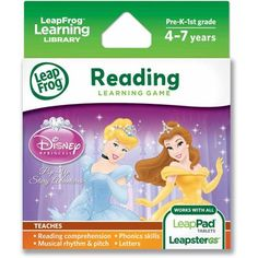 LeapFrog Explorer & LeapPad Learning Game: Disney Princess: Pop-Up Story Adventures - Walmart.com