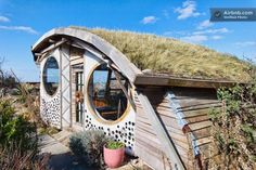 Bed & Breakfast in Hightown, United Kingdom. The Guest Room in my bungalow it has a garden view & you sleep in a driftwood bed. It is adjacent to a private shower & WC with easy access to the kitchen, lounge, & then there's The Owl House winner of George Clarke's, Shed of the Year 2015 - Enj...