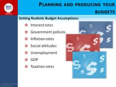 Planning your budget