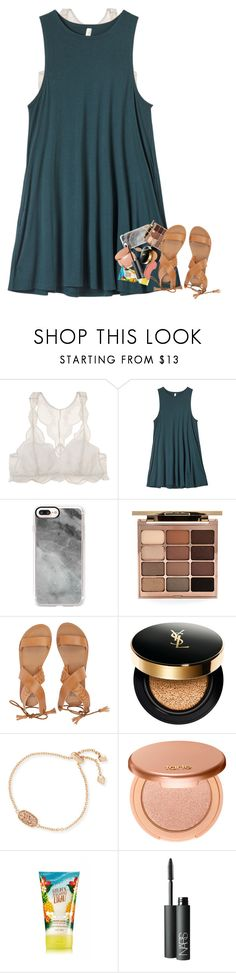 """keeping poly :)"" by mehanahan ❤ liked on Polyvore featuring Eberjey, RVCA, Casetify, Stila, Billabong, Yves Saint Laurent, Kendra Scott, tarte, NARS Cosmetics and NYX"