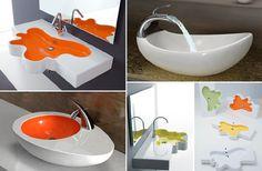 » Blog Archive » Pias de cozinha e lavatórios com muito charme e modernidade