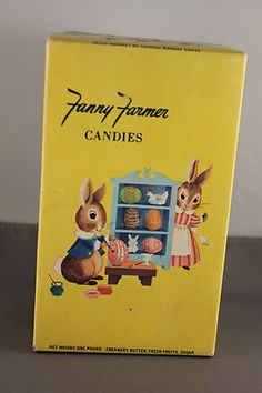 Vintage Fanny Farmer Candies Box Peter Rabbit Easter MINT Easter Art, Easter Candy, Vintage Easter, Vintage Holiday, Passover And Easter, Here Comes Peter Cottontail, Old Cards, Chocolate Bunny, Bunny Crafts