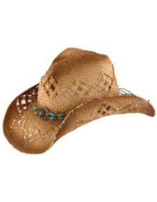 735a804c310 Scala Beaded Straw Cowboy Hat Western Hats