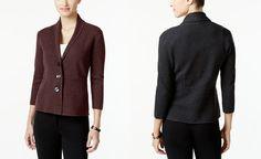 Alfani Three-Button Knit Jacket, Only at Macy's - Sweaters - Women - Macy's