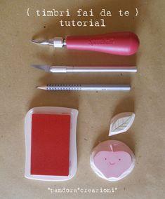 timbri fai da te } tutorial #tutorial #rubberstamp #stamp