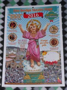 Almanaque Auténtico de Los Amigos del Divino Niño Jesús 2016 (2)